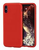 iPhone X / XS Rainbow Kırmızı Silikon Kılıf