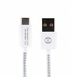 ITFIT USB Type-C Beyaz Data Kablosu 1m