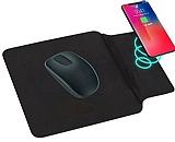 JLW Kablosuz Hızlı Şarj Özellikli Siyah Mouse Pad