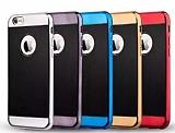 Joyroom Blade Series iPhone 6 Plus / 6S Plus Metalik Kenarl� Siyah Silikon K�l�f