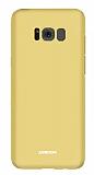 Joyroom Chi Series Samsung Galaxy S8 Plus Gold Rubber Kılıf