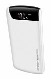 Joyroom D-M153 20000 mAh Powerbank Beyaz Yedek Batarya