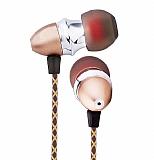 Joyroom JR-E100 Mikrofonlu Kulaki�i Gold Kulakl�k