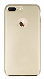 Joyroom iPhone 7 Plus 3 in 1 Gold Rubber Kılıf