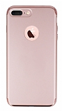Joyroom iPhone 7 Plus / 8 Plus 3 in 1 Rose Gold Rubber Kılıf