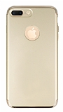 Joyroom iPhone 7 Plus 3 in 1 Gold Rubber K�l�f
