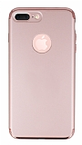 Joyroom iPhone 7 Plus 3 in 1 Rose Gold Rubber K�l�f