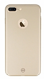Joyroom iPhone 7 Plus / 8 Plus Tam Kenar Gold Rubber Kılıf