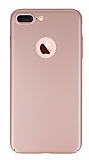 Joyroom iPhone 7 Plus Tam Kenar Rose Gold Rubber Kılıf