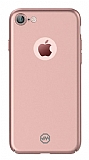 Joyroom iPhone 7 Tam Kenar Rose Gold Rubber Kılıf