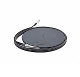 Joyroom JR-W100 Kablosuz Siyah Şarj Cihazı