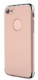 Joyroom Ling iPhone 7 / 8 3ü 1 Arada Rose Gold Rubber Kılıf