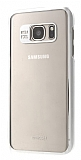 Joyroom Samsung Galaxy S7 Edge Metalik Silver Kenarlı Kristal Kılıf