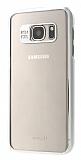 Joyroom Samsung Galaxy S7 Metalik Silver Kenarlı Kristal Kılıf