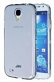 JZZS Samsung i9600 Galaxy S4 Tam Koruma �effaf Siyah Arka + �effaf �n Kristal K�l�f