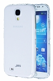 JZZS Samsung i9600 Galaxy S4 Tam Koruma �effaf Arka + �effaf �n Kristal K�l�f