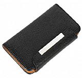 Kalaideng Nokia Lumia 920 C�zdanl� Siyah Deri K�l�f