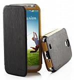 Kalaideng Samsung i9500 Galaxy S4 Charming II Series Kapakl� Siyah Deri K�l�f