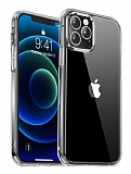 Keephone iPhone 12 / 12 Pro 6.1 inç Şeffaf Silikon Kılıf