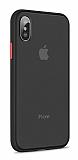 Keephone iPhone X / XS Ultra Koruma Siyah Kılıf