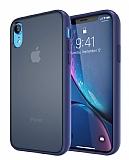 Keephone iPhone XR Kılıf Ultra Koruma Lacivert