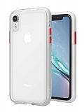 Keephone iPhone XR Ultra Koruma Beyaz Kılıf
