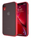 Keephone iPhone XR Ultra Koruma Kırmızı Kılıf