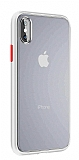 Keephone iPhone XS Max Ultra Koruma Beyaz Kılıf