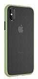 Keephone iPhone XS Max Ultra Koruma Yeşil Kılıf
