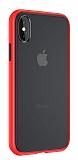 Keephone iPhone XS Max Ultra Koruma Kırmızı Kılıf