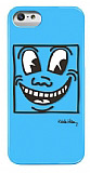 Keith Haring iPhone 5 / 5S Eyes Parlak Rubber K�l�f