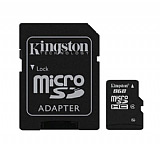 Kingston 8 GB Micro SD HC Haf�za Kart�