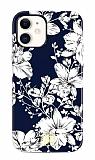Kingxbar iPhone 11 Swarovski Taşlı Lily Rubber Kılıf