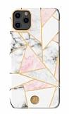 Kingxbar Jade Series iPhone 11 Pro White Moon Rubber Kılıf
