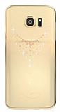 Kingxbar Samsung Galaxy Note 7 Damla Taşlı Kristal Kılıf