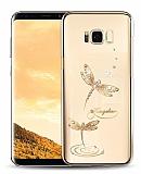 Kingxbar Samsung Galaxy S8 Plus Yusufçuk Taşlı Kristal Kılıf