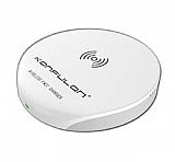 Konfulon Q02 Kablosuz Beyaz Hızlı Şarj Cihazı