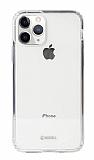 Krusell Kivik iPhone 11 Pro Şeffaf Silikon Kılıf