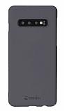 Krusell Sandby Samsung Galaxy S10 Ultra İnce Silver Rubber Kılıf