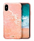 Laut Huex Elements iPhone X / XS Ultra Koruma Pembe Kılıf