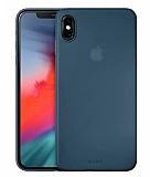 Laut Slim Skın iPhone X / iPhone XS Lacivert Silikon Kılıf