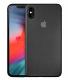 Laut Slim Skın iPhone X / iPhone XS Siyah Silikon Kılıf
