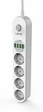 LDNIO SE4432 4 Priz + 4 USB Akım Korumalı Priz