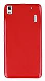 Lenovo K3 Note 3 5.5 Kırmızı Silikon Kılıf