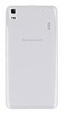 Lenovo K3 Note 3 5.5 Şeffaf Beyaz Silikon Kılıf