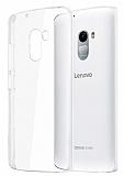 Lenovo A7010 Şeffaf Kristal Kılıf