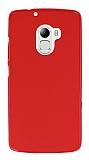 Lenovo A7010 Kırmızı Silikon Kılıf