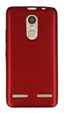 Lenovo K6 Mat Kırmızı Silikon Kılıf