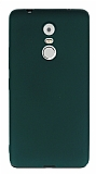 Lenovo K6 Note Mat Yeşil Silikon Kılıf
