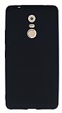 Lenovo K6 Note Mat Siyah Silikon Kılıf